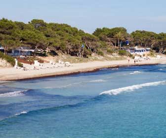 Playa de las Salinas Ibiza