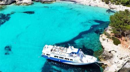 Excursión en Barco desde Ciutadella