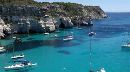 Paseo en Barco en Menorca